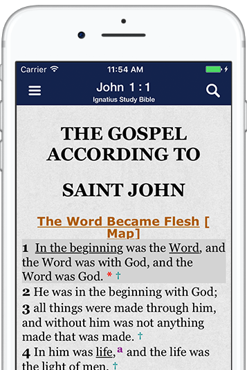 Catholic Study Bible App